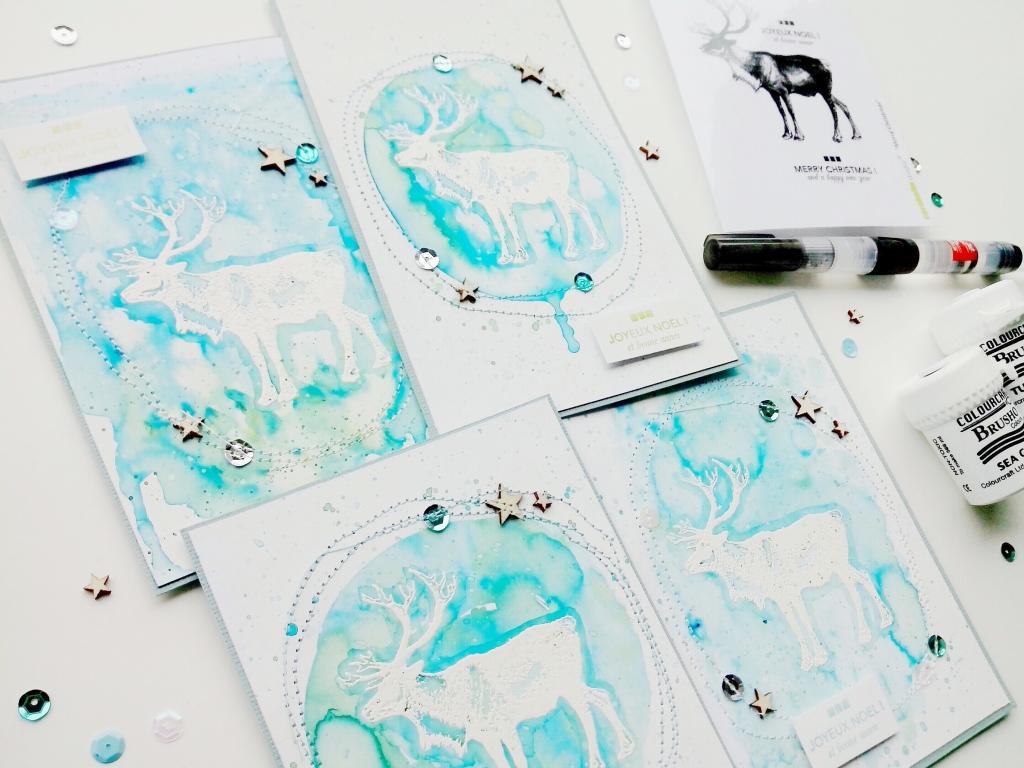 cartes de voeux renne