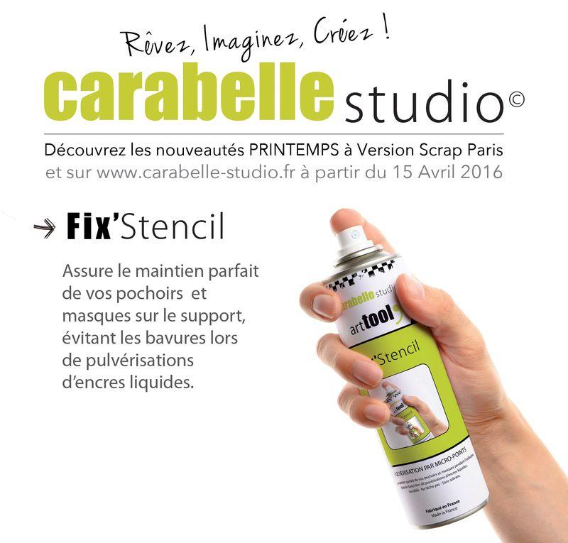 Fix stencil Carabelle Studio