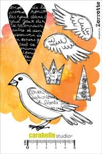 stamp oiseau